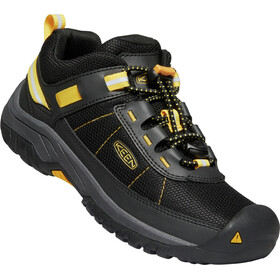 Keen Targhee Sport Chaussures Adolescents, black/keen yellow